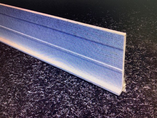 Glassfiber SLAT beams 100x25x5mm 4.8m length