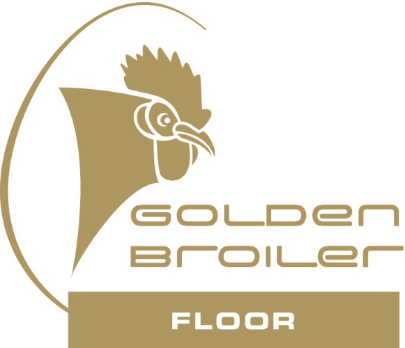 Golden Broiler floor Logo gold reduced