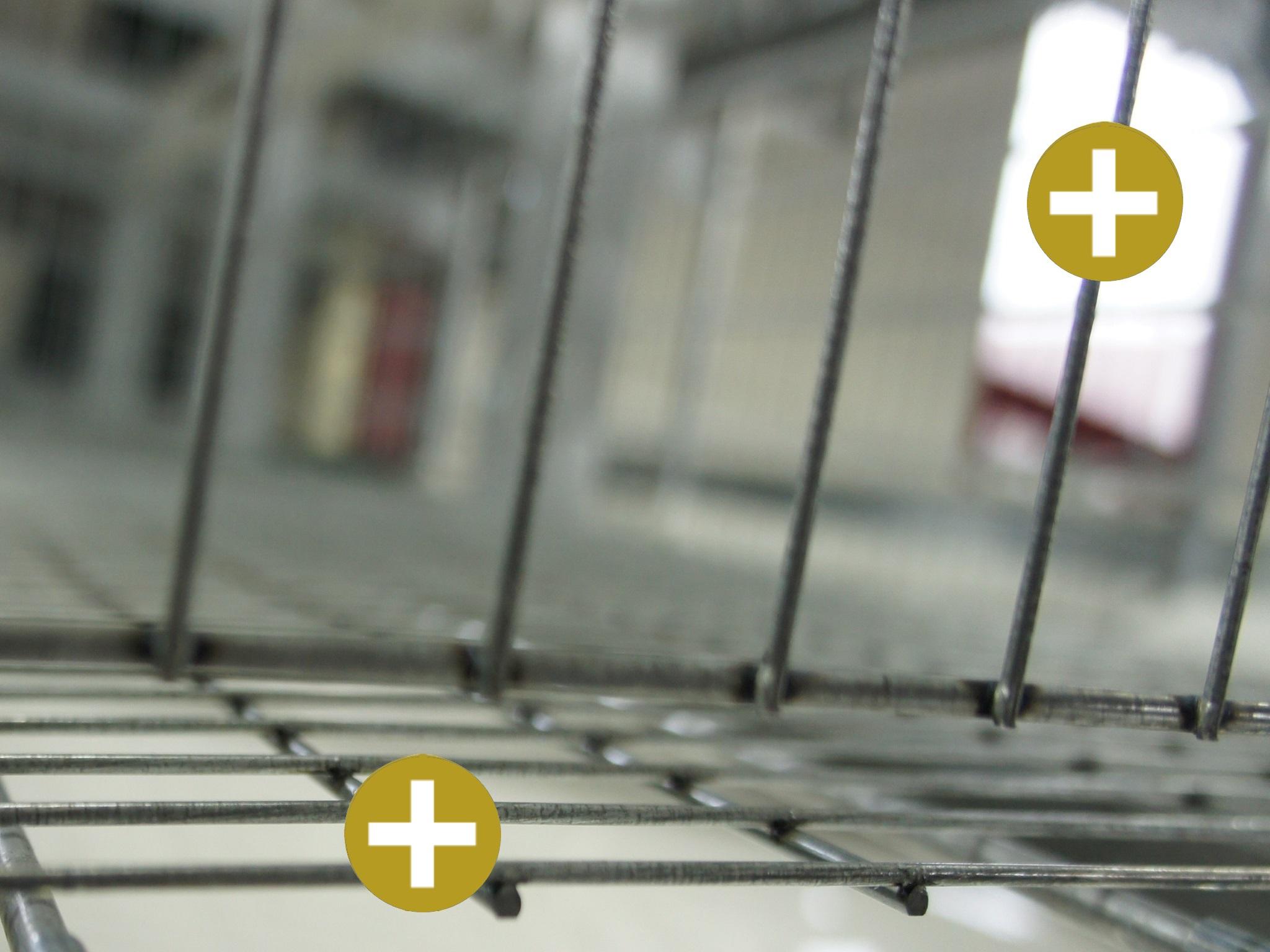 Golden Layer PRIME - 4+5 floor and cross grid