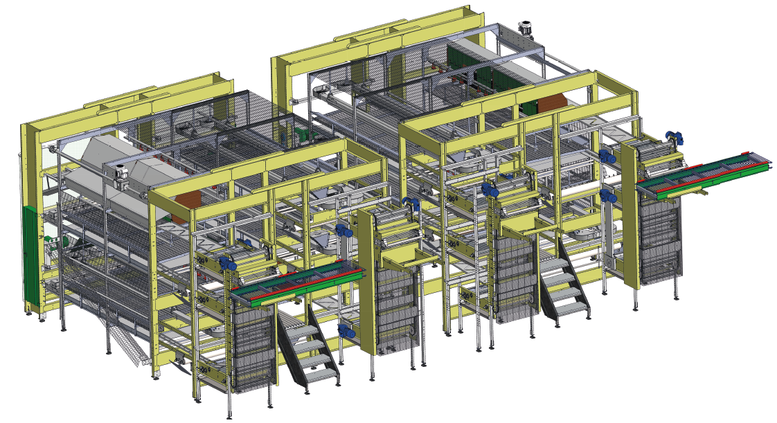 FIT Farm Innovation Team Golden Layer NATURE_1 cage-free AVIARY